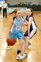 SD vs Kew 8th Gr girls 1-31-12